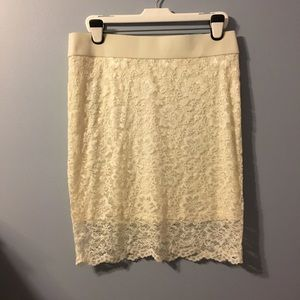 NWT lace skirt